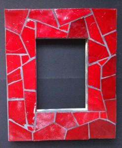 cadre verre albertini avec joint