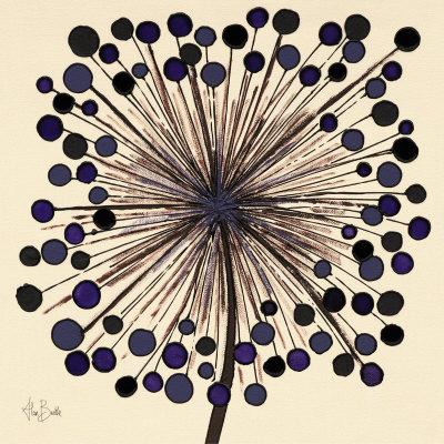 Oeuvre d'Alan Buckle Lilac Bubble Flower