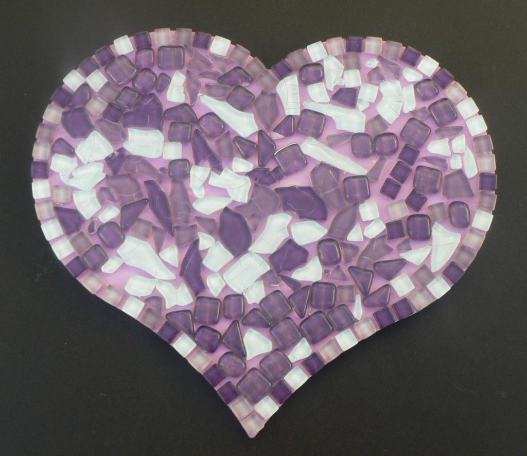 coeur translucide