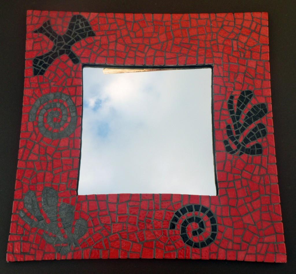 Miroir matisse emaux de briare mosaique creative for Carreaux de briare