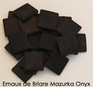 emaux de briare mazurka onyx