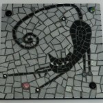mosaique chat emaux de briare mazurka