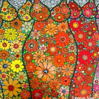 Mosaique Flower Princess